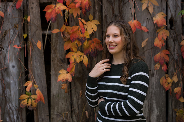 Marcellus Fall Senior Portrait