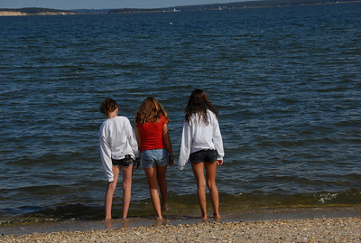 Allison, Cara and Arianna-Peconic 9-18-10