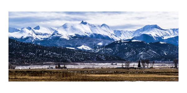 Sangre de Cristo Range, Colorado