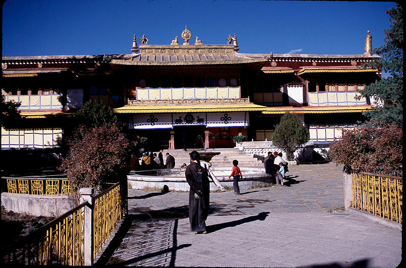 Norbu Lingka summer palace and gardens in Lhasa