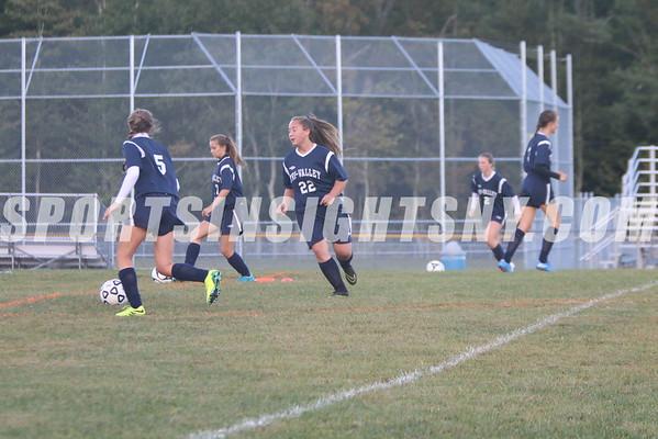 Sullivan West vs. Tri-Valley Girls Soccer 9-16-16