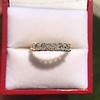 1.17ctw French Cut Diamond 7-Stone Band 15