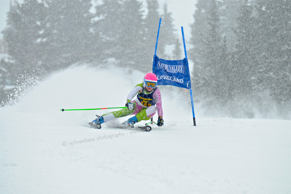 2-1-13 CHSAA GS at Loveland - Ladies Run #1