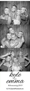 9-27-2019 Kyle and Emma's Wedding (photostrips)