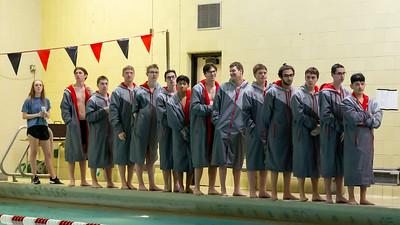 Boys Varsity Swimming - 1/30/2020 Manistee (Seniors Night)