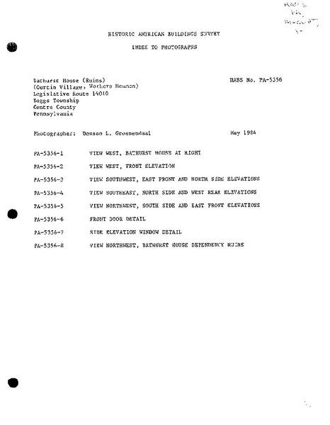 Miller/Howard Historical Documents