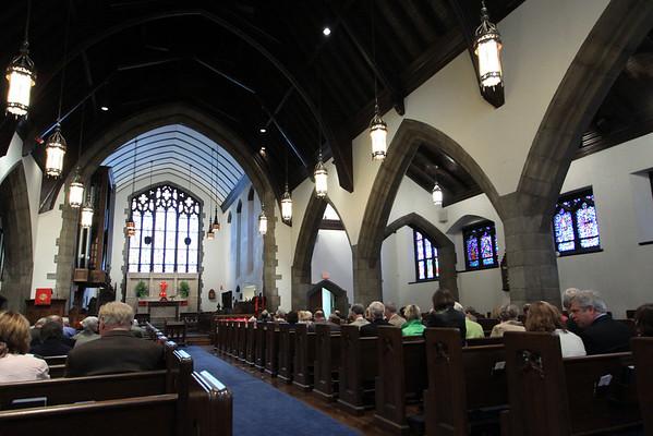 Palm Sunday At Trinity Church