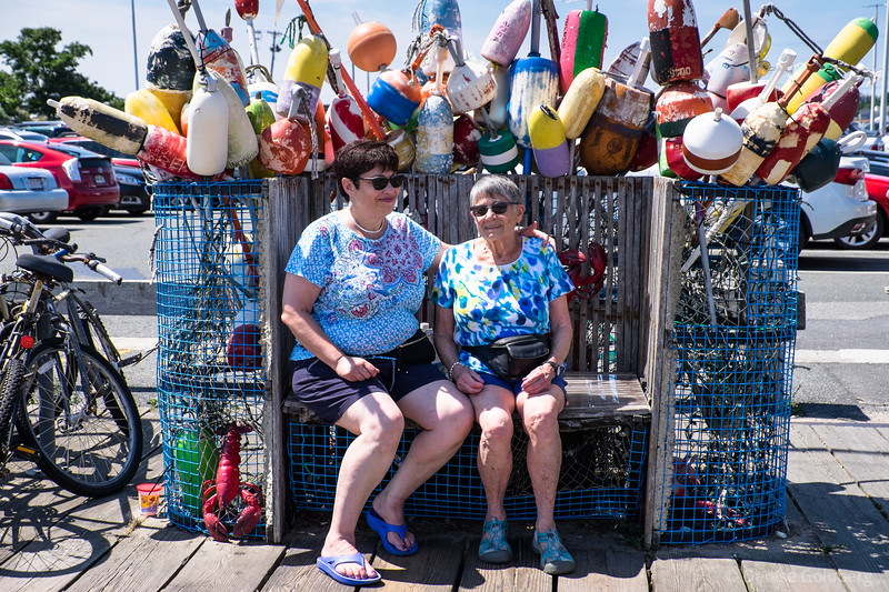 Mom & Suze in Provincetown, MA