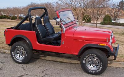 Emily's Jeep CJ7