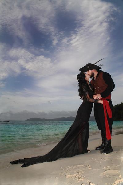 pirate kiss