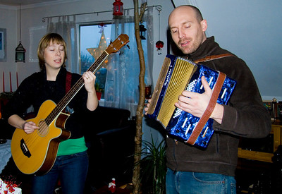 Þingvellir í okt og Jól 08-09