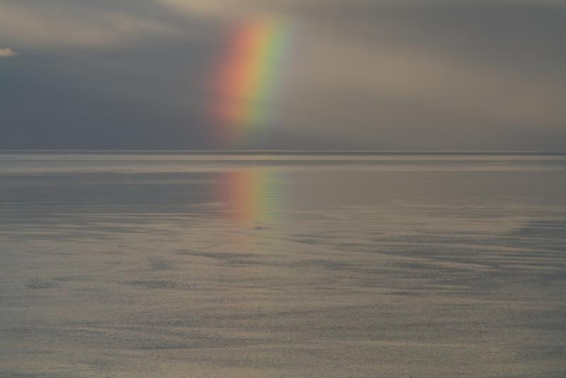 Rainbow on Kachemak Bay, Alaska