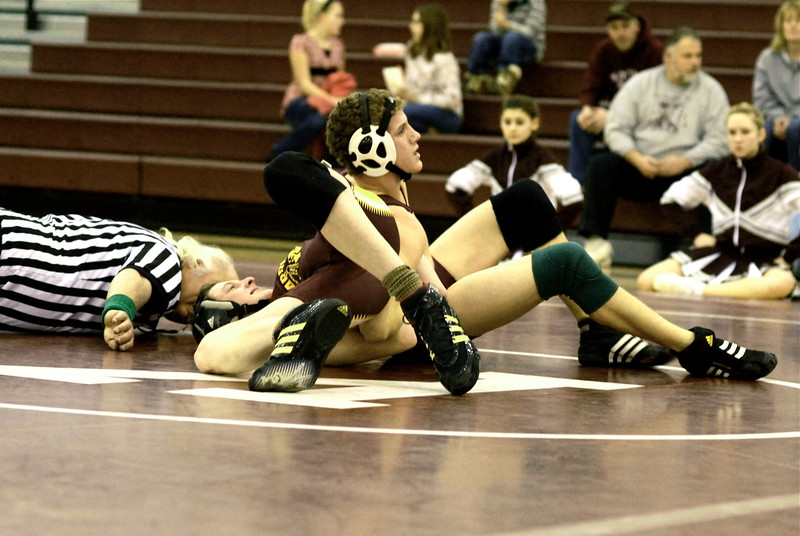 2008/2009 Wrestling vs Cle Elum
