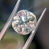 3.56ct Antique Cushion Cut Diamond 12