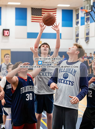 10/10/2019 - Unified Basketball - Framingham vs Needham