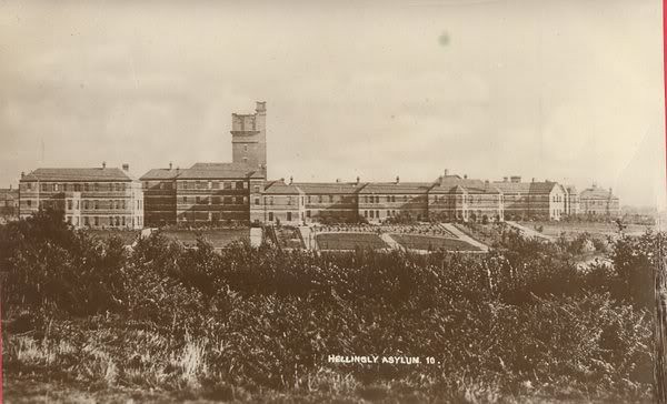 Hellingly Asylum,East Sussex,first visit 2008.