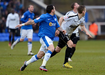 Peterborough United 0 - 0 Ipswich Town  NO FOOTBALL IMAGES FOR SALE OR REPRODUCTION