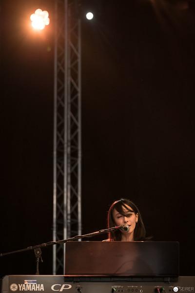 Haruka auf der AniNite 2018 Bühne in Wien