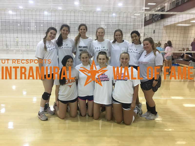 Spring 2018 Volleyball Women's A Champion DG