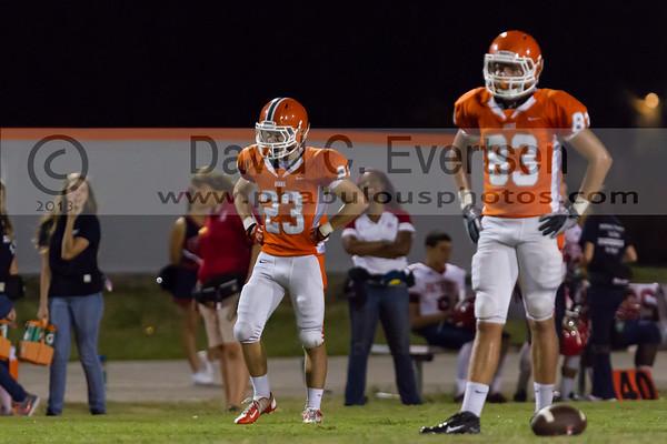 Boone Junior Varsity Football #23 - 2013