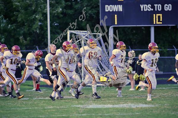 Berks Catholic vs Columbia High School Football 2014 - 2015