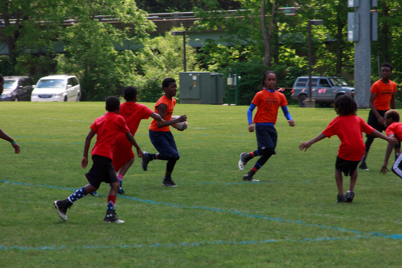 Orange v Red Game 4