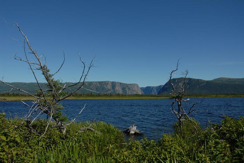 Western Brook Pond, Gros Morne National Park, Newfoundland.