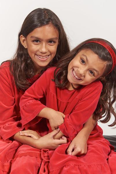 Rainbow Raj Siona and Serafina