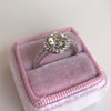 1.19ctw Old European Cut Diamond Halo Ring by A Jaffe 26