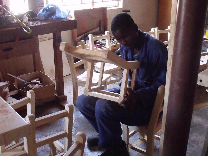 The carpentry workshop
