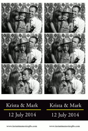 Krista and Mark's Wedding 7-12-2014