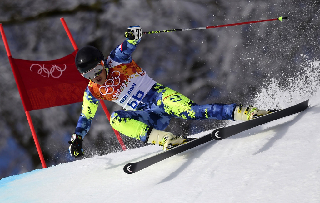 . Chile\'s Henrik Von Appen competes in the Men\'s Alpine Skiing Giant Slalom Run 1 at the Rosa Khutor Alpine Center during the Sochi Winter Olympics on February 19, 2014.  AFP PHOTO / OLIVIER MORIN/AFP/Getty Images