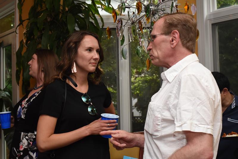 Lindsey Bergman & Jerry Brookover. Blue Wave Book Opening. June 5, 2018. 616 North Carolina St SE. Amanda Warden..JPG