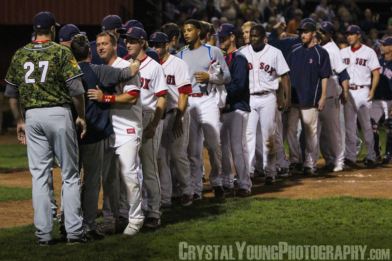 Barrie Baycats at Brantford Red Sox IBL Playoffs, Finals Game 7 September 9, 2013