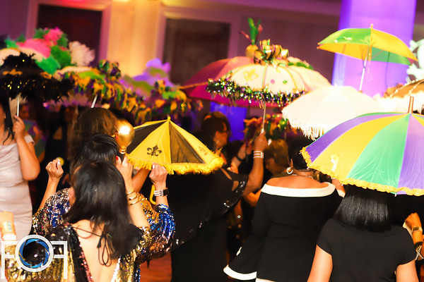 The Links Mardi Gras ball 2019