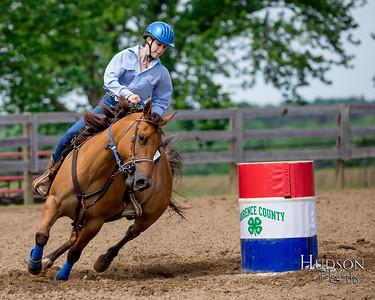 12. Barrels Pony, Sr. Rider