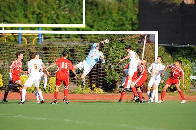 Soccer, Boys H.S. Varsity, St. John the Baptist vs Chaminade (10-23-08)