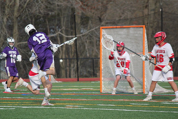 Boys LAX St Lawrence Game photos by S Abreu