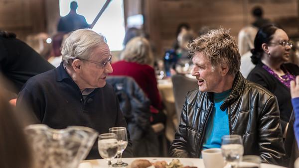Sundance Author Series: Bob Woodward + Robert Redford