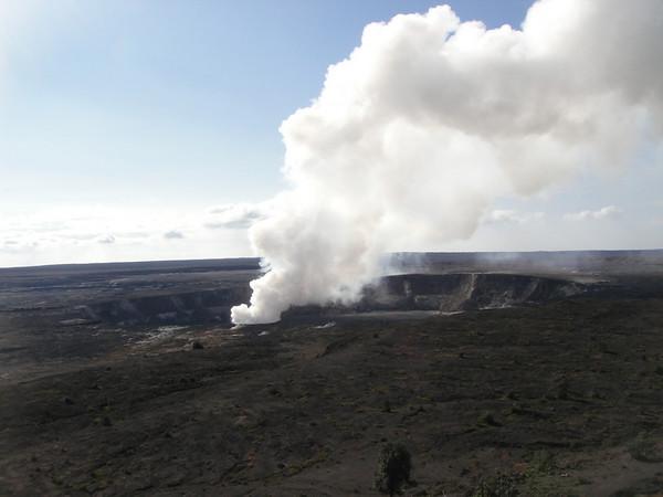 Big Island Kilauea Caldera and Vent
