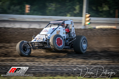 Bridgeport Speedway - USAC Sprints - 6/12/19 - Dave Dellinger