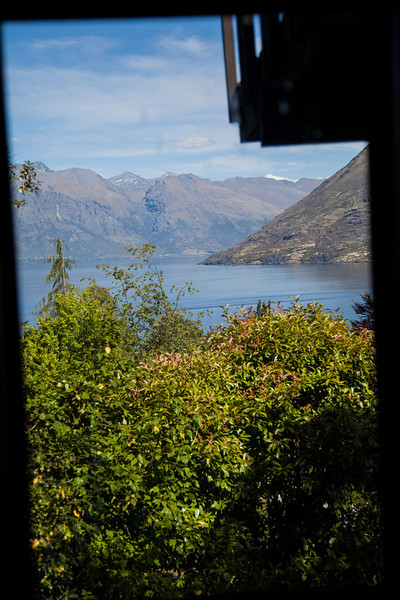 The view from our B&B window!