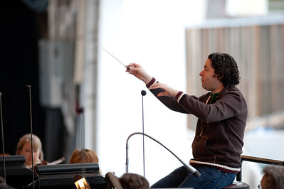 Gustavo Dudamel rehearsal July 12th 2011
