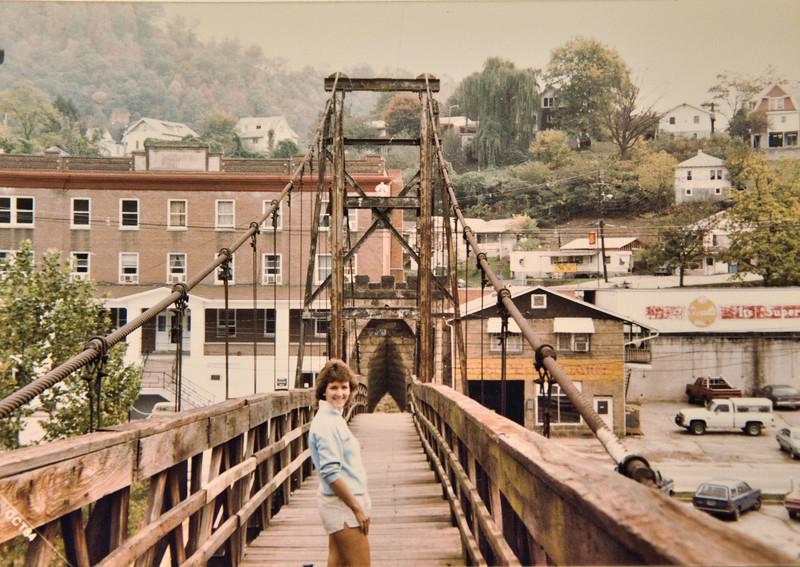 Footbridge from Rail Yards