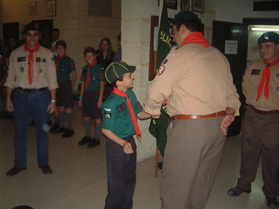 Crossing of the line & Investiture
