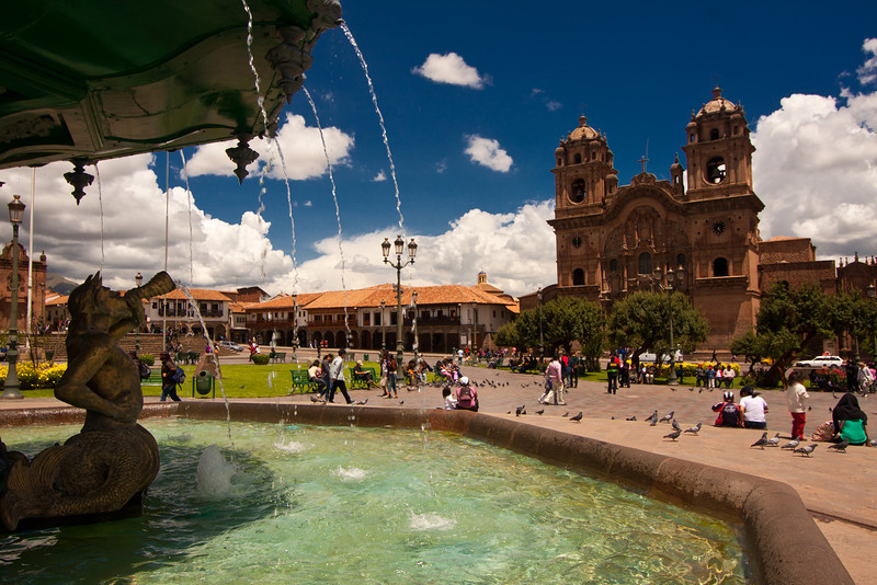 plaza de armas fountai