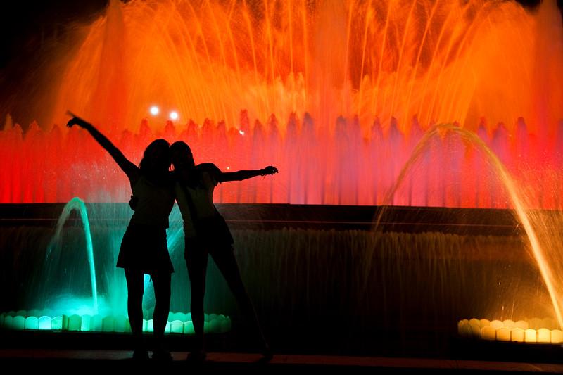 Fuente de colores de Montjuic, Barcelona