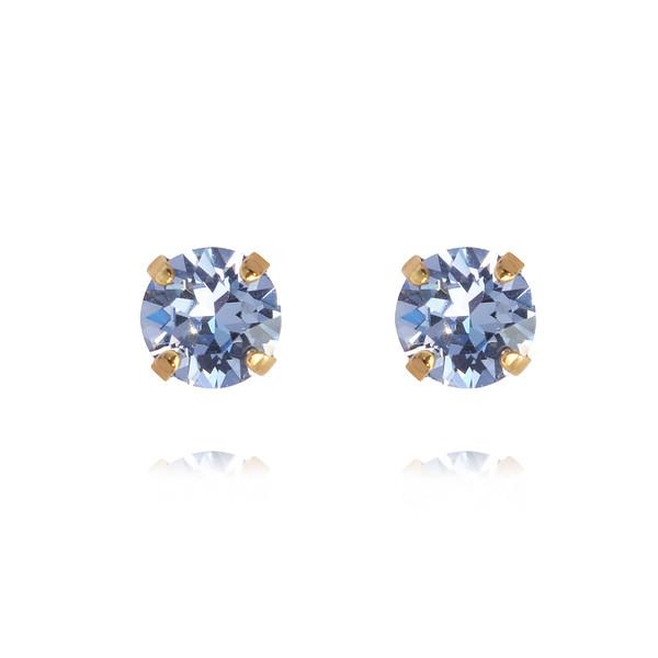 Classic Stud Earrings / Light Sapphire