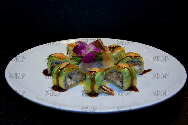Special Dragon Roll