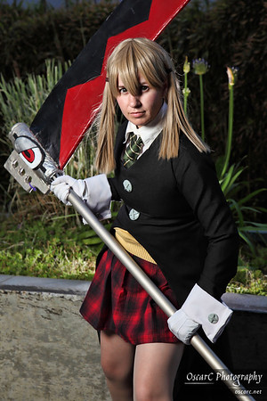 Maka Albarn (Rosebud) and Death the Kid (Luo) from Soul Eater